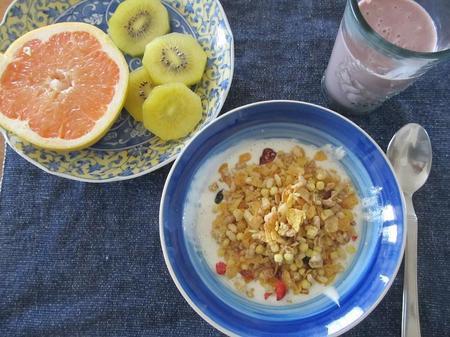 ケロッグフラグラのベスト朝食