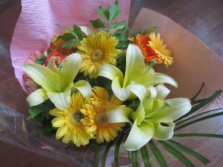 ゴージャスな花束1