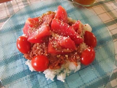 ツナトマトライス