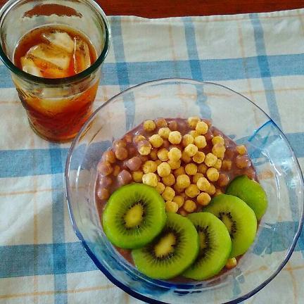 オーガニックゴリラマンチグルテンフリーシリアル朝食