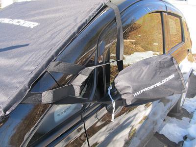 フロントガラス霜よけカバー両サイドミラーカバー付2
