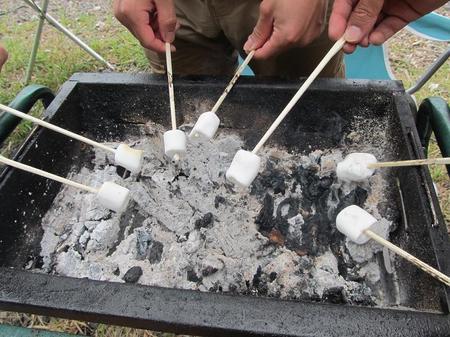 BBQマシュマロ焼き