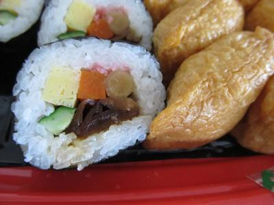美味しくなった助六寿司