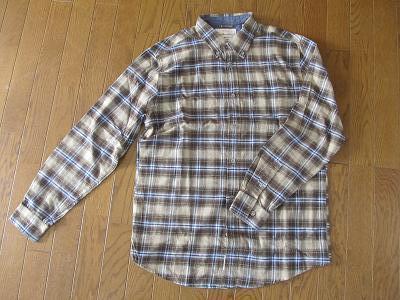 Weatherproof vintageフランネルシャツ