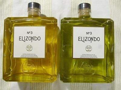 ELIZONDO NO.3エクストラバージンオリーブオイル変色
