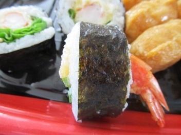 えび天巻入り助六寿司2
