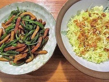 週末の夕食2