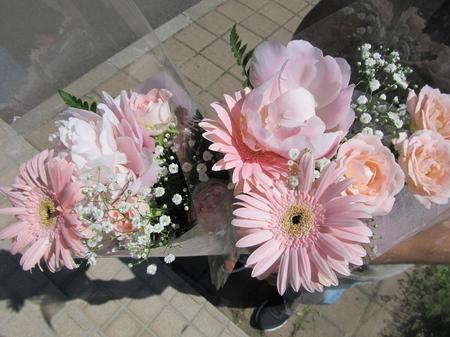 コストコの花束