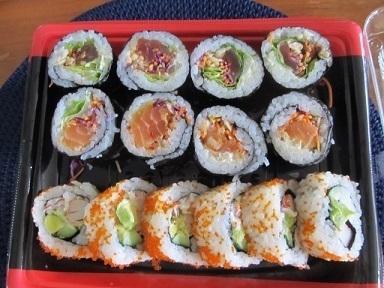 寿司サラダ巻き1