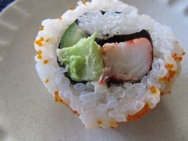 寿司サラダ巻き3