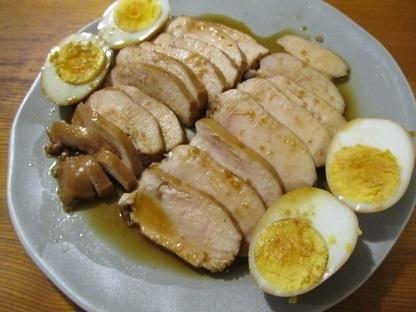 5分で簡単!むね肉のやわらか鶏チャーシュー
