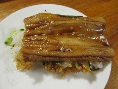 煮穴子寿司2