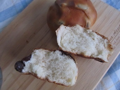札幌キムラヤプチ金時豆パン1