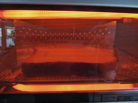 パナソニックオーブントースター焼く