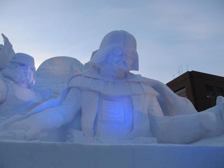 雪のスターウォーズ1